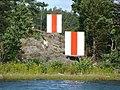 Leading beacons north of Styrmansholmen.jpg
