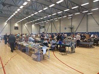 Frederiksberghallen - Image: Legetøjsmarked in Frederiksberg Hallerne
