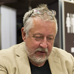 Leif G.W. Persson ved Bogmessen i Göteborg 2013.