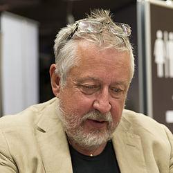 Leif GW Persson på Bokmässan i Göteborg 2013.