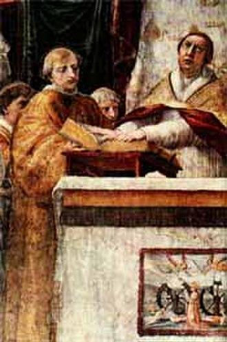 The Oath of Leo III - Image: Leo III by Rafael
