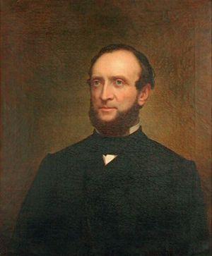 Leonard J. Farwell - 1865 portrait of Farwell by William F. Cogswell