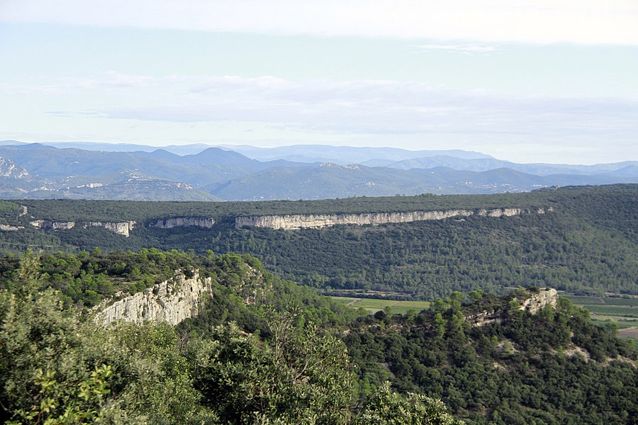 Views on the Cevennes from the Oppidum Matane Mas Neuf