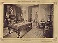 Lesencetomaj, Hertelendy-kastély, biliárdszoba. A felvétel 1895-1899 között készült. - Fortepan 83322.jpg