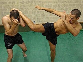 Lethwei - Image: Lethwei Hight kick