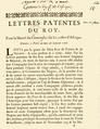 Lettres patentes pour la liberté du commerce sur les côtes d'Afrique, Louis XV, 1716.png