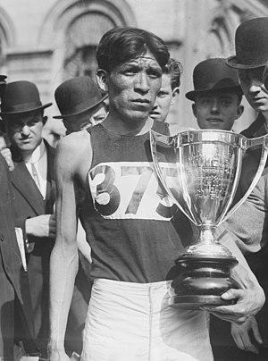 Hopi - Lewis Tewanima, Olympian athlete, 1911