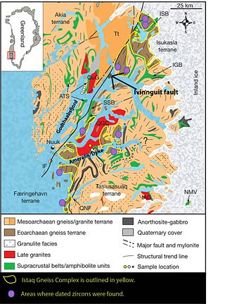 Isua Greenstone Belt - Image: Li 2