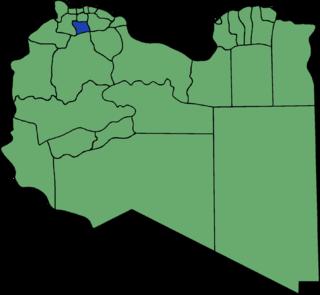 Gharyan District Former district of Libya