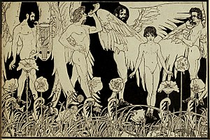 Book of Genesis - The Creation of Man by Ephraim Moses Lilien, 1903