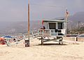 Lifeguard tower 12 at Zuma Beach side elevation 2014.jpg