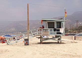 Zuma Beach - Lifeguard tower 12