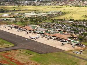 Lihue Airport - The terminal