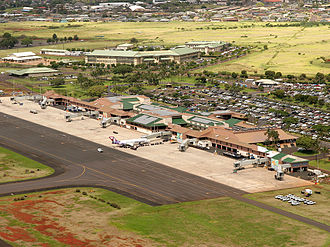 Lihue Airport - The terminal