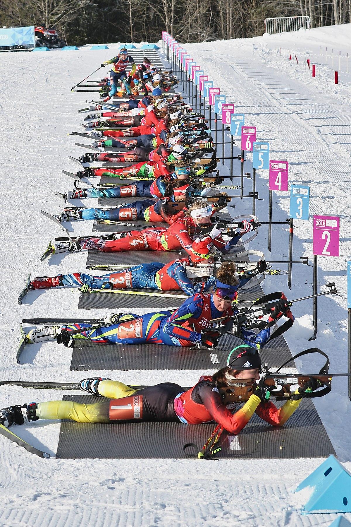 Biathlon at the 2016 Winter Youth Olympics - Wikipedia