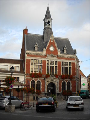 Lillers - Town hall - 1.JPG