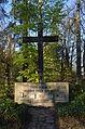 Limburg, Hauptfriedhof, Gedenkkreuz den Toten der Heimat.JPG