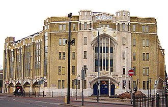 Sailors' Society - The Mission in Limehouse, where Situationist International held its conference in 1960