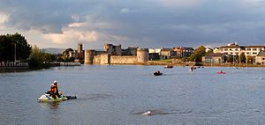 King John's Castle (Limerick) - Image: Limerick City King Johns Castle 2010