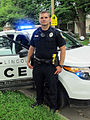 Lincoln Police Officer, Lincoln Police Department, Lincoln, Nebraska, USA.jpg
