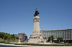 Lisboa, Praça do Marquês de Pombal (7).jpg