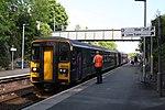 Liskeard - GWR 153318+153361 down service.JPG