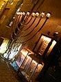 Lit Hanukkiyot in Nachlaot, Jerusalem.jpg