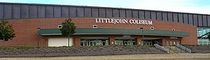 Littlejohn Coliseum - Littlejohn Coliseum from the outside