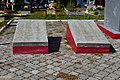Liubeshiv Volynska-brotherly grave of soviet warriors&partisans-details-1.jpg