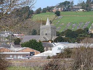 Llanbadarn Fawr, Ceredigion - Image: Llanbadarn Fawr Parish Church