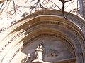 Llotja de València - detall de la porta.JPG
