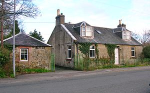 Loans, South Ayrshire - The old smithy.