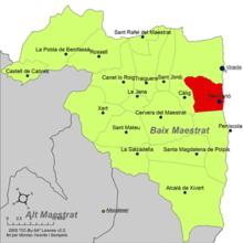 Benicarlo Espagne Carte.Benicarlo Wikipedia