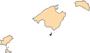 Cabrera Archipelago Maritime-Terrestrial National Park - Image: Localització de Cabrera
