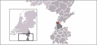 Born, Netherlands - Image: Locatie Born