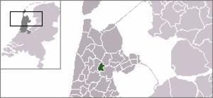 Hensbroek - Image: Locatie Obdam