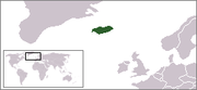 Localización de Islandia