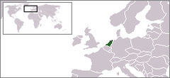 Location of Koninkrijk der Nederlanden
