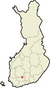 Location of Hauho in Finland.png