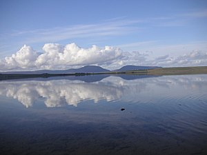 Loch of Stenness - towards the Hoy Hills - geograph.org.uk - 780480.jpg