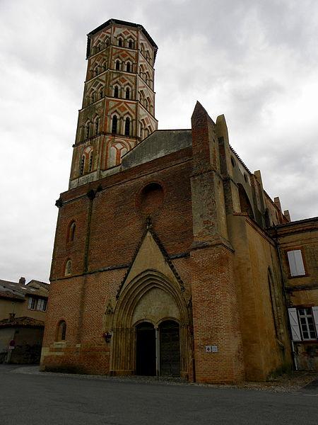Cathédrale Sainte-Marie de Lombez (32). Façade occidentale.
