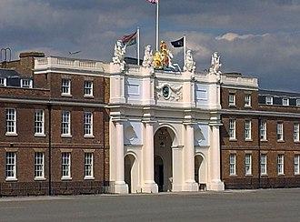 Royal Artillery Barracks - Image: London Woolwich, Royal Artillery Barracks 04