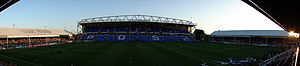 London Road Stadium - Image: London Road Stadium Peterborough Wide