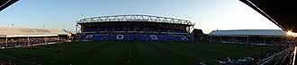 London Road Stadium - Image: London Road Stadium Peterborough Wide
