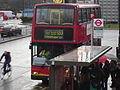 London General Dennis Trident Plaxton President on route 133.JPG