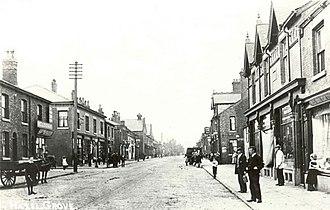Hazel Grove - London Road, Hazel Grove around 1900