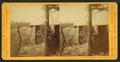 Long ravine trestle and bridge, 113 feet high, 878 feet long, looking west, by Muybridge, Eadweard, 1830-1904.png