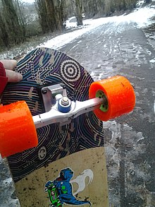 a3c974ab019b ... and sealed boards often made from weather resistant material like  bamboo make longboarding possible in any season