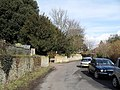 Looking from St Andrew's Church towards Drewitts Mews - geograph.org.uk - 1717083.jpg