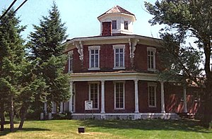 National Register of Historic Places - The Loren Andrus Octagon House in Washington, Michigan has been on the NRHP since September 3, 1971.